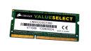 2 GB DDR3-RAM 204-pin SO-DIMM PC3-8500S  Corsair...