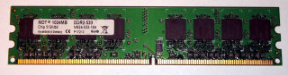 1 GB DDR2-RAM 240-pin PC2-4200U non-ECC 533 MHz  MDT M924-533-16A