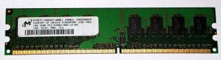 1 Go RAM DDR2 240 broches 1Rx8 PC2-6400U non ECC 800MHz Micron MT8HTF12864AY-800E1