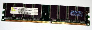 1 GB DDR-RAM 184-pin PC-3200U non-ECC  Aeneon AED760UD00-500-S