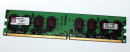 1 GB DDR2-RAM 240-pin PC2-5300U nonECC  Kingston...