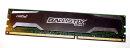 4 GB DDR3-RAM PC3-12800U CL9 non-ECC 1,5V Ballistix Sport...