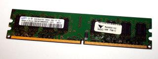2 Go DDR2-RAM 240 broches 2Rx8 PC2-6400U non-ECC Samsung M378T5663DZ3-CF7
