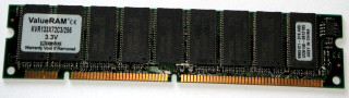 256 MB SD-RAM PC-133 ECC  Kingston KVR133X72C3/256   9965121   single-sided
