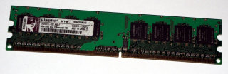1 GB DDR2-RAM 240-pin PC2-5300U non-ECC  Kingston KVR667D2N5/1G 99..5315