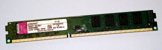2 GB DDR3 RAM 240-pin PC3-8500 nonECC Kingston KVR1066D3N7/2G 99..5471   double-sided