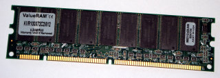 512 MB SD-RAM ECC  PC-100  Kingston KVR100X72C2/512   9902112   double-sided