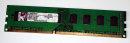 2 GB DDR3 RAM 240-pin PC3-10600U nonECC Kingston KVR1333D3N9/2G