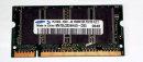 256 MB DDR - RAM 200-pin SO-DIMM PC-2700S   Samsung...
