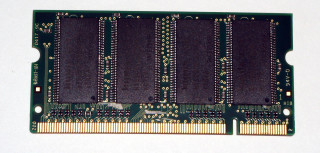 512 MB DDR-RAM 200-pin SO-DIMM PC-2700S  Hynix HYMD564M646A6-J AA-A