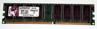 256 MB DDR-RAM PC-2100U non-ECC  Kingston KVR266X64C2/256   9905005