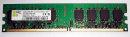 1 GB DDR2-RAM 240-pin 2Rx8 PC2-5300U non-ECC 667MHz  Aeneon AET760UD00-30DB97X