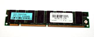 256 MB SD-RAM 168-pin PC-133 non-ECC 8-Chip Infineon HYB39S256160CTL-7.5