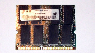 512 MB SO-DIMM PC-133 CL3 Smart SG564648578NW3R