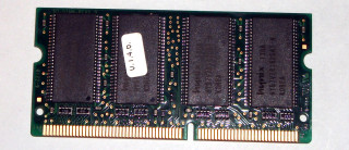 128 MB SO-DIMM PC-133  144-pin CL3 Hynix HYM71V16M635AT6-H AA