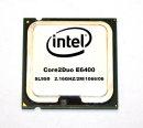 CPU Intel Core2Duo E6400 SL9S9 Prozessor 2x2.13 GHz, 1066...