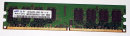 2 GB DDR2-RAM 240-pin 2Rx8 PC2-5300U  non-ECC 667 MHz...