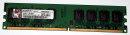 2 GB DDR2-RAM 240-pin PC2-6400U non-ECC 800MHz Kingston...