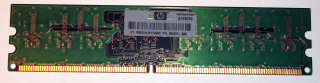 1 GB DDR2 RAM 240-pin 1Rx8 PC2-6400U non-ECC   Micron MT8HTF12864AY-800J1