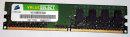 1 GB DDR2 RAM PC2-4200U nonECC DDR2-533  Corsair...