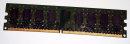2 GB DDR2-RAM 240-pin 2Rx8 PC2-6400U non-ECC  Qimonda HYS64T256020EU-2.5-C2