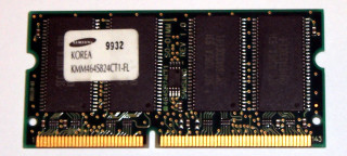 64 MB SO-DIMM PC-100  Samsung KMM464S824CT1-FL