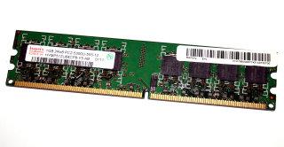 1 GB DDR2-RAM 240-pin 2Rx8 PC2-5300U non-ECC  Hynix HYMP512U64CP8-Y5 AB