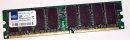 1 GB DDR-RAM 184-pin PC-3200U non-ECC  Team TVDR1024M400