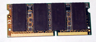 256 MB 144-pin SD-RAM SO-DIMM PC-133   Kingston KTH-OB6100/256