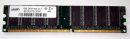 1 GB DDR-RAM PC-3200U non-ECC   takeMS BD1024TEC600G