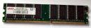1 GB DDR-RAM 184-pin PC-3200U non-ECC   takeMS BD1024TEC600E