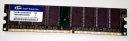 1 GB DDR-RAM 184-pin PC-3200U non-ECC  Team TVDR1024M400C3