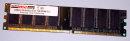 1 GB DDR-RAM 184-pin PC-3200U non-ECC  CL2.5  extrememory...