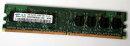 1 Go DDR2-RAM 240 broches 1Rx8 PC2-5300U non ECC 667 MHz...