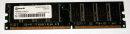 1 GB DDR-RAM 184-pin PC-2700U non-ECC Qimonda...