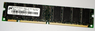 256 MB SD-RAM 168-pin PC-133U non-ECC CL2 Micron MT16LSDT3264AG-13EE3