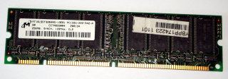 256 MB SD-RAM 168-pin PC-133U non-ECC CL2 Micron MT16LSDT3264AG-13EB1