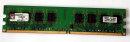 1 GB DDR2-RAM PC2-5300U non-ECC Desktop-Memory Kingston...