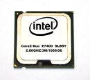 CPU Intel Core2Duo E7400 SLB9Y  Sockel 775    2.80 GHz /...