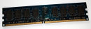 1 GB DDR2-RAM 240-pin PC2-6400U nonECC 800 MHz Nanya NT1GT64U8HB0BY-25D