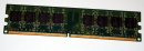 1 GB DDR2-RAM 240-pin 2Rx8 PC2-4200U non-ECC  Hynix HYMP512U64BP8-C4 AB-T