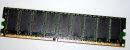 1 GB ECC DDR-RAM 184-pin PC-3200U Infineon HYS72D128320HU-5-B