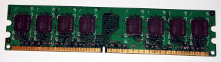 1 GB DDR2-RAM 240-pin PC2-6400U non-ECC  Team TVDD1024M800C5   double-sided