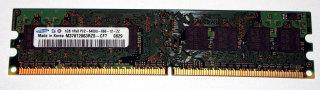 1 GB DDR2-RAM 240-pin 1Rx8 PC2-6400U non-ECC  Samsung M378T2863RZS-CF7