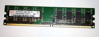1 GB DDR2-RAM 1Rx8 PC2-6400U non-ECC Hynix HYMP112U64CP8-S5 AB-C