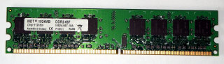 1 GB DDR2-RAM 240-pin PC2-5300U non-ECC  MDT M924-667-16A