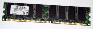 1 GB DDR-RAM 184-pin PC-3200U non-ECC CL2.5 MDT M924-400-16