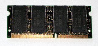 64 MB SO-DIMM 144-pin PC-66 SD-RAM Laptop-Memory Samsung KMM466S0823DT3-L10