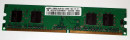 256 MB DDR2-RAM 240-pin 1Rx16 PC2-3200U non-ECC  Samsung...