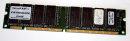 256 MB SD-RAM 168-pin PC-100U non-ECC  CL2   Kingston...